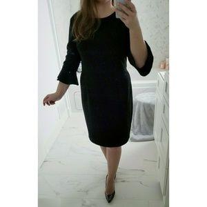 7ebc84bf Donna Morgan Dresses - Donna Morgan Ruffle Cuff Sheath Dress